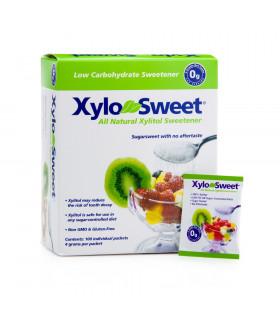 XyloSweet  100% Xylitol Sweetener 100 x 4g